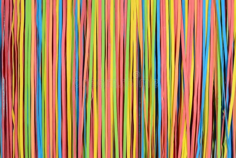 Het kleine patroon van rubberbandstroken stock afbeelding