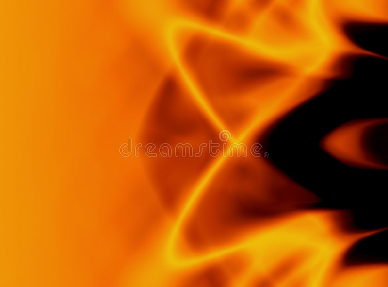 Trillende vlammensamenvatting royalty-vrije illustratie