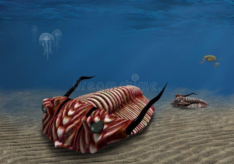 Trilobite иллюстрация вектора