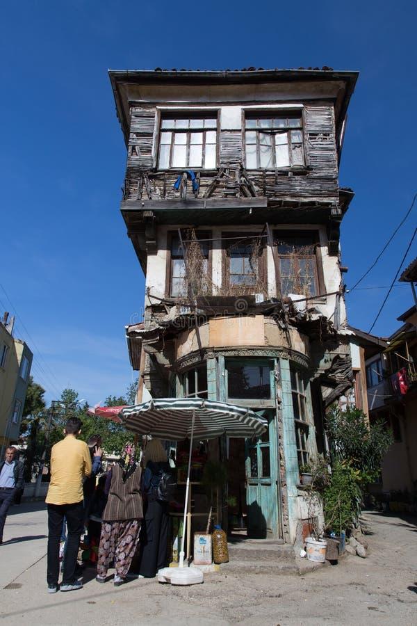 Trilye i Bursa, Turkiet royaltyfri bild