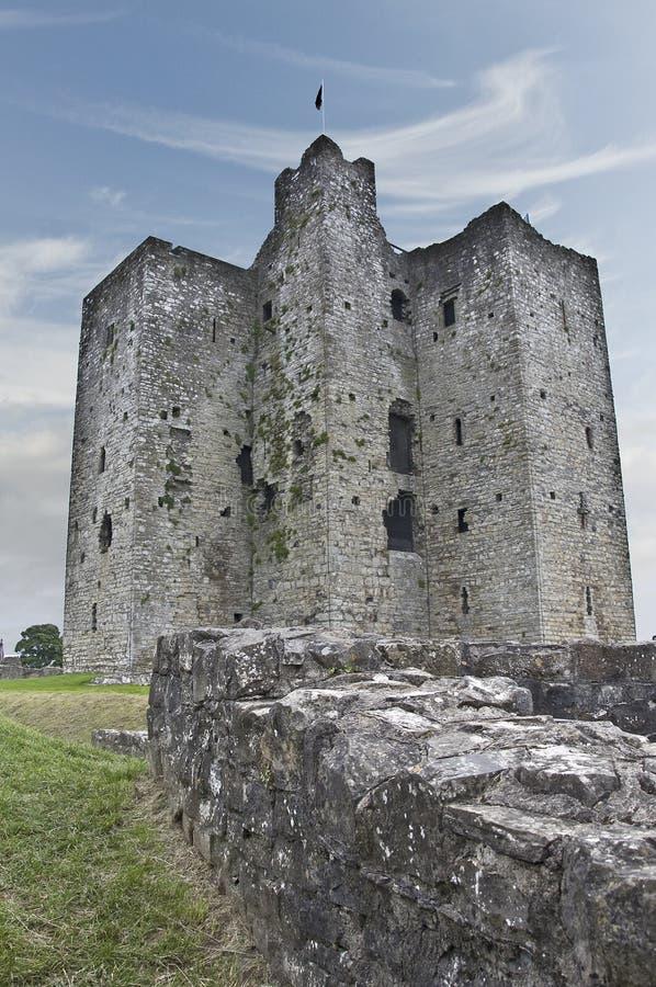 Trim Castle Keep stock photos