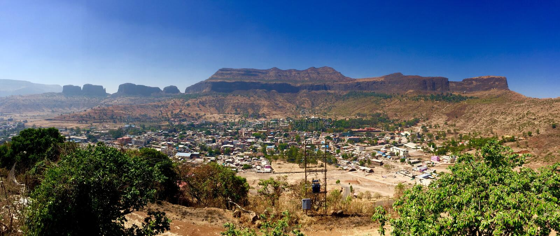 Trimbakeshwar Maharashtra, Indien royaltyfri foto