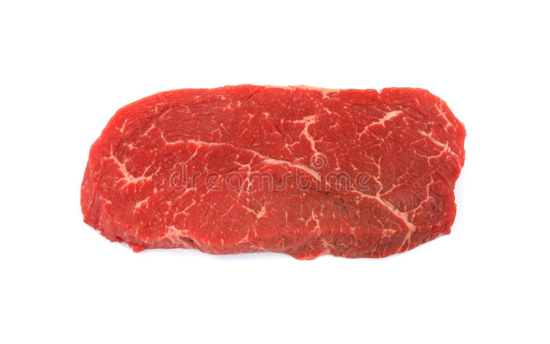 Trimmed Steak royalty free stock image