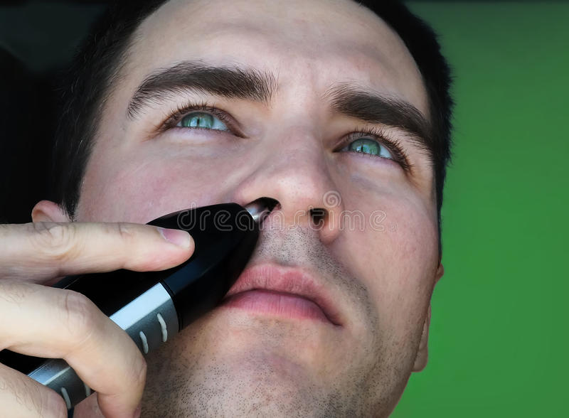 Trimmer τρίχας για τη μύτη στοκ φωτογραφία με δικαίωμα ελεύθερης χρήσης