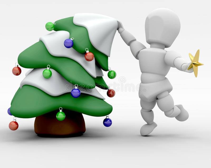 Download Trimming the tree stock illustration. Illustration of trimming - 11602314