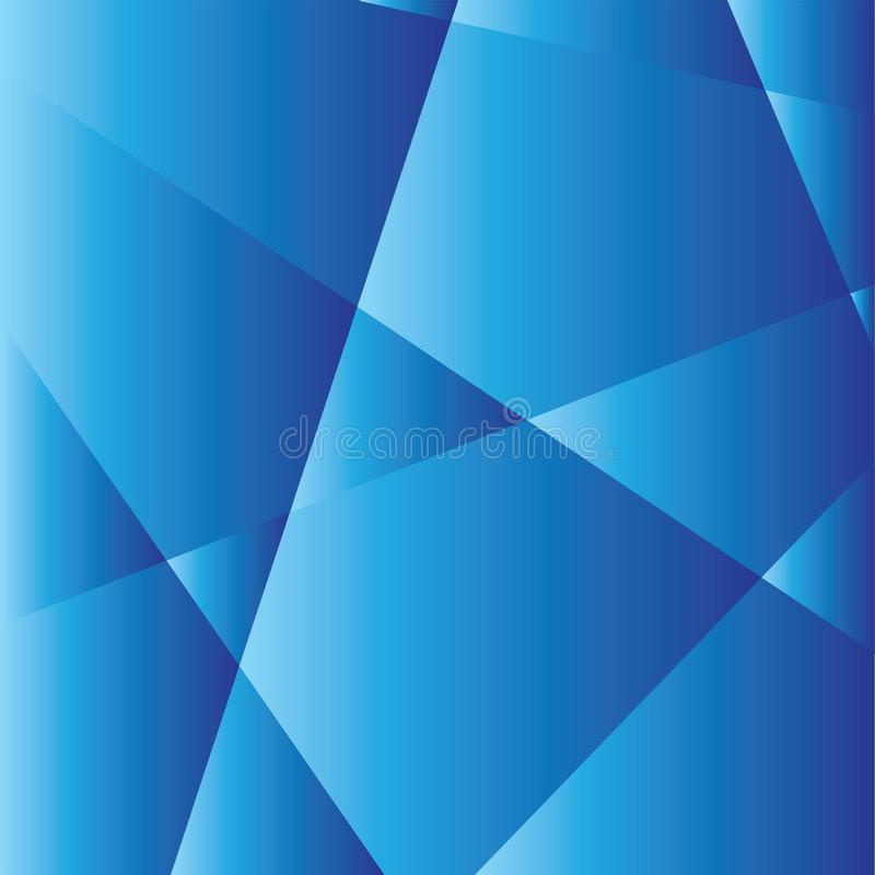 Trinagles barwił błękitni kolory ilustracji