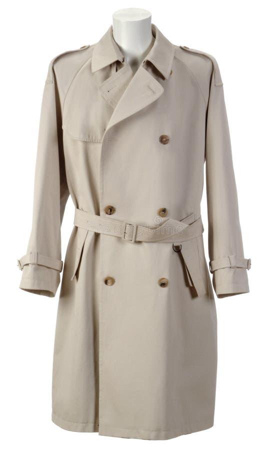 Trincea-cappotto fotografia stock