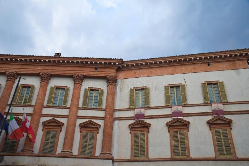 Download Trinci Slott. Foligno. Umbria. Italien. Fotografering för Bildbyråer - Bild av gångare, garnering: 37349865