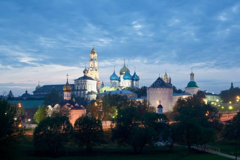 Trindade Lavra de St. Sergius imagem de stock royalty free