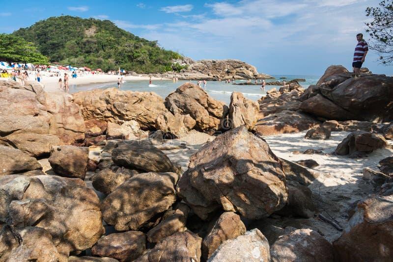 Trindade Plażowy Rio De Janeiro obrazy stock