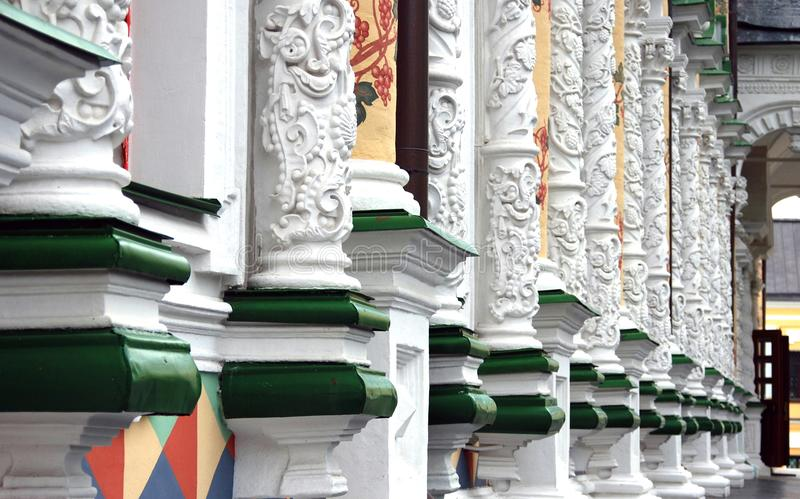 Trindade Sergius Lavra em Rússia Igreja do refeitório fotografia de stock royalty free