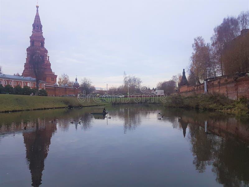 Trindade-Sergius masculina Lavra do monastério de Chernigov, Sergiev Posad, Rússia fotos de stock royalty free