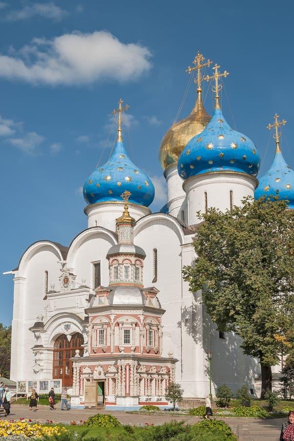 Trindade-St santamente Sergius Lavra, Sergiev Posad fotos de stock royalty free