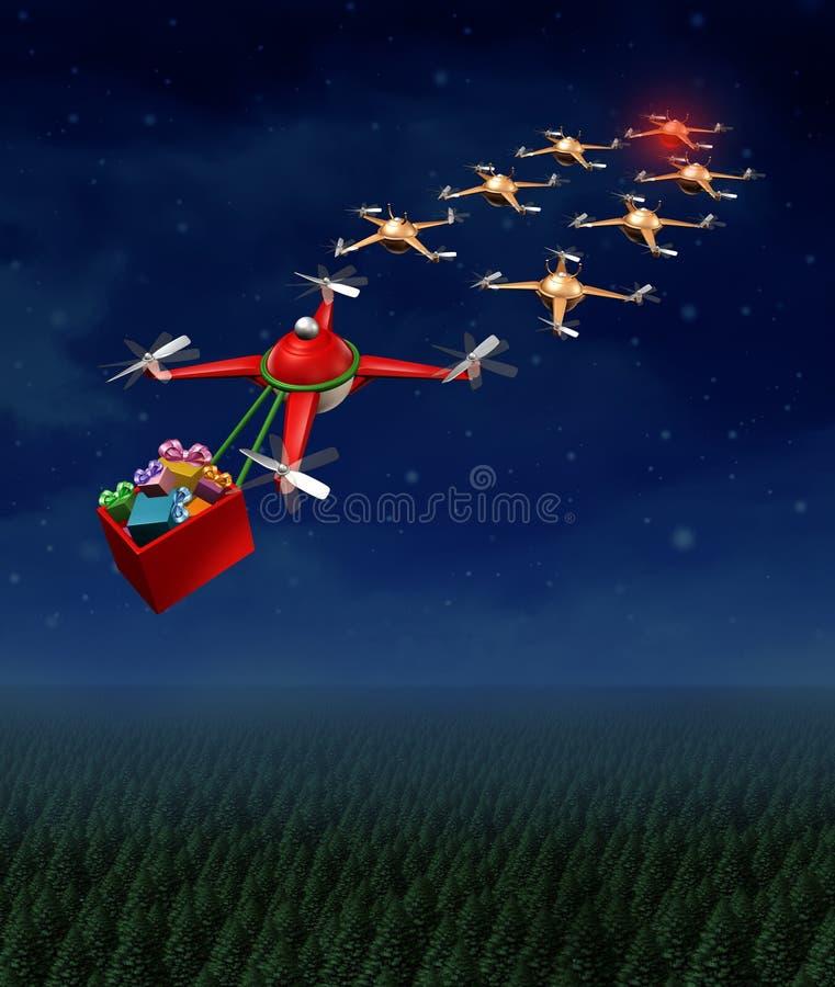 Trineo de la Navidad del abejón
