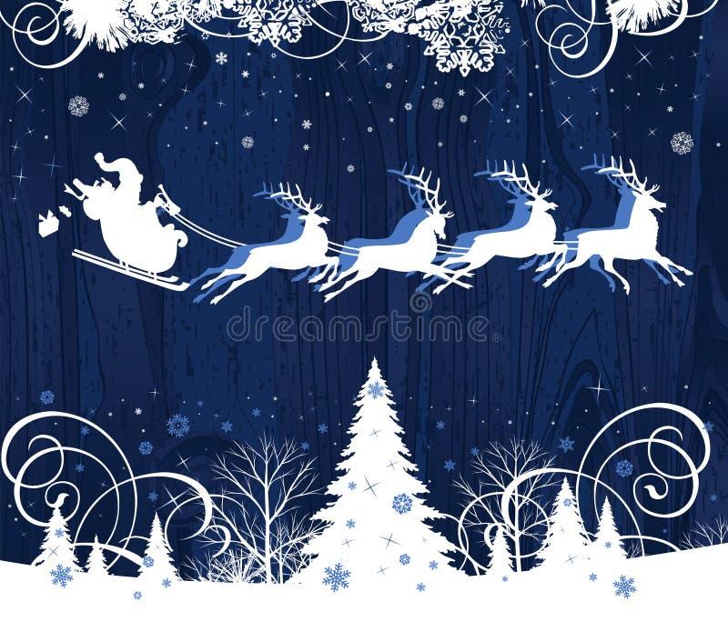 Trineo de Santa. libre illustration