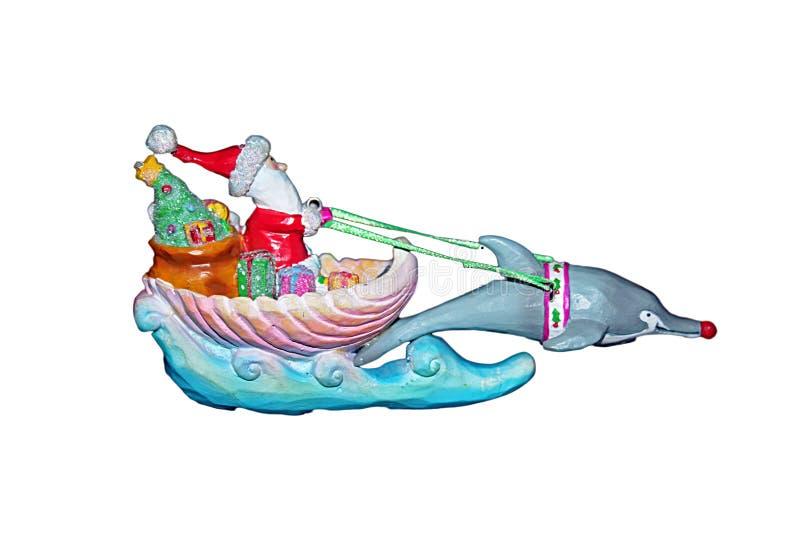 Trineo del delfín ilustración del vector