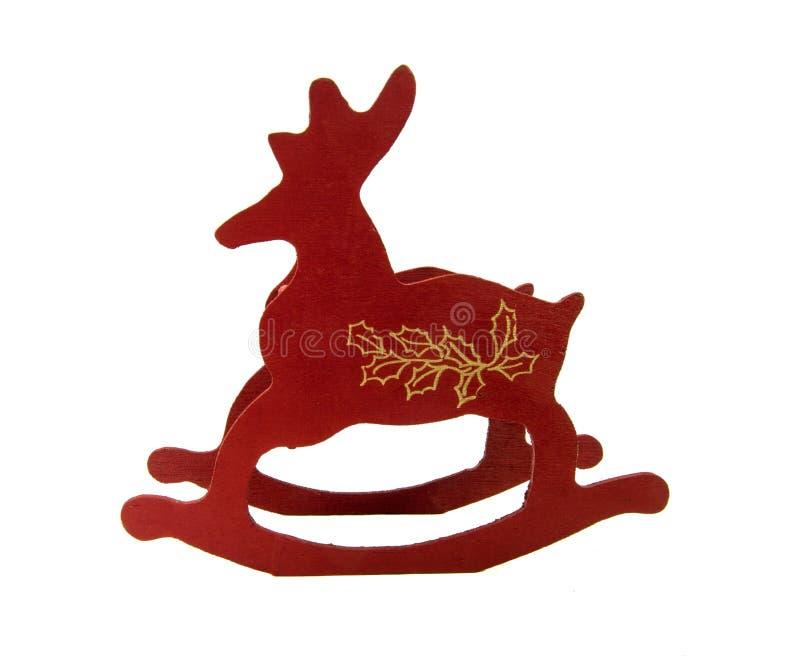Trineo del reno de Santa's - la Navidad fotos de archivo