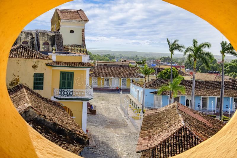 Trinidad attraverso la ricerca fotografia stock libera da diritti
