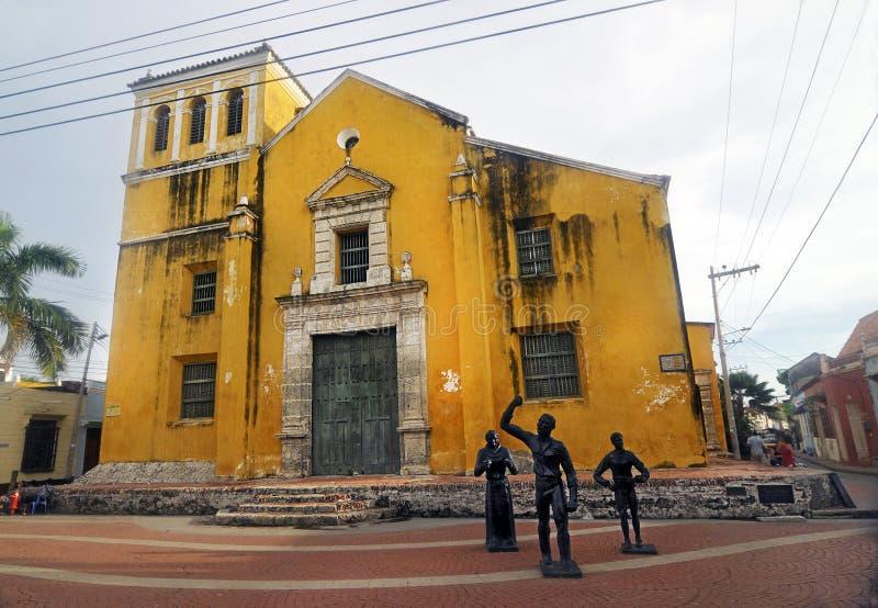 Trinidad Church, Colombia immagine stock libera da diritti