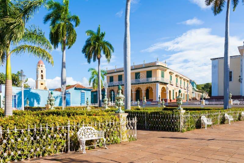 Trinidad, città coloniale spagnola in Cuba centrale immagini stock