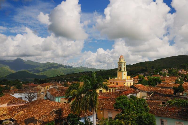 Trinidad cityscape, cuba stock photo