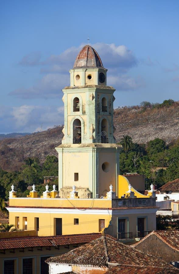 Trinidad con Lucha Contra Bandidos, Cuba imágenes de archivo libres de regalías