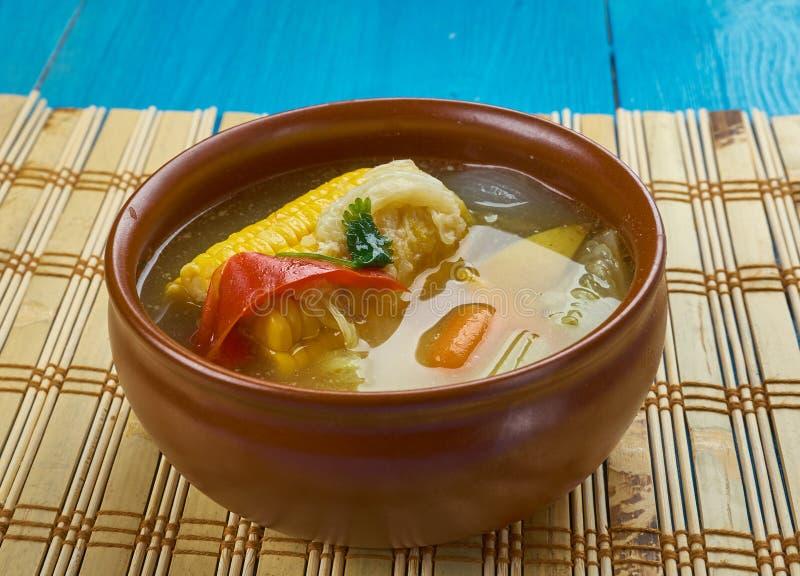 Trinidad Corn Soup photo stock
