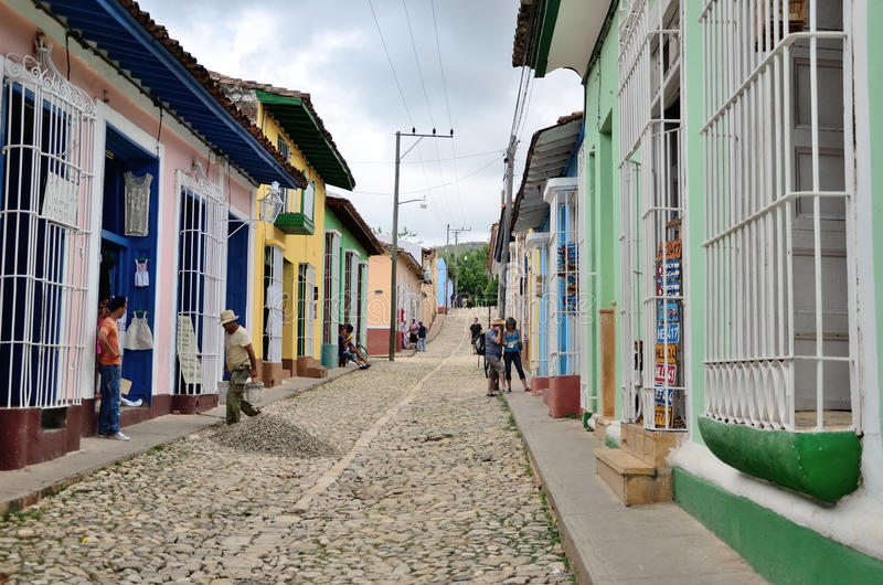 Trinidad, Cuba – colonial town royalty free stock photo