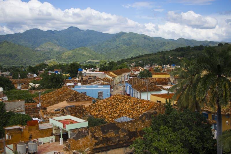 Trinidad Cuba imagem de stock
