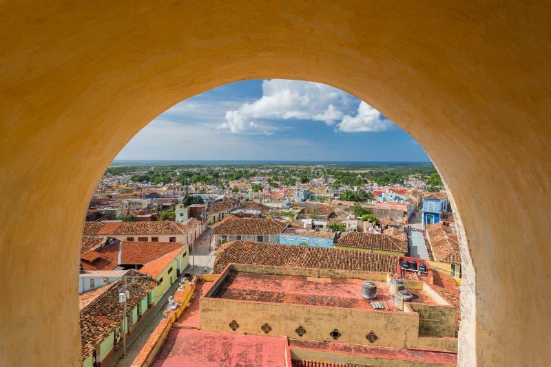 Trinidad, Cuba Museo Nacional de la lucha contra bandidos foto de archivo