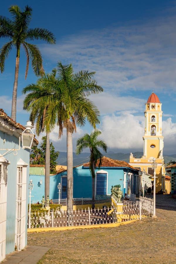 Trinidad, Cuba Museo Nacional de la lucha contra bandidos imágenes de archivo libres de regalías