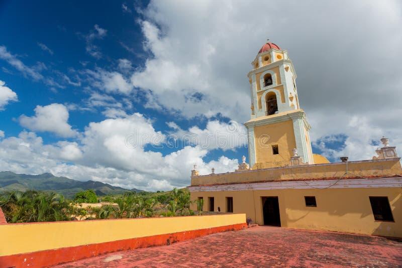 Trinidad, Cuba Museo Nacional de la lucha contra bandidos foto de archivo libre de regalías