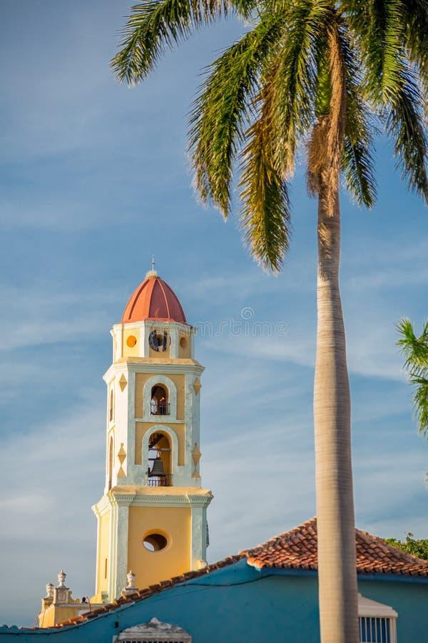 Trinidad, Cuba Museo Nacional de la lucha contra bandidos imagenes de archivo