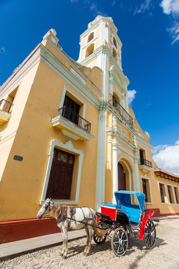 Trinidad, Cuba Museo Nacional de la lucha contra bandidos imagen de archivo libre de regalías