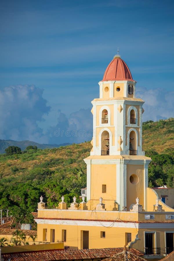 Trinidad, Cuba Museo Nacional de la lucha contra bandidos fotos de archivo