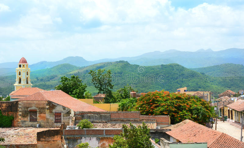 Trinidad Cuba Overview photo stock