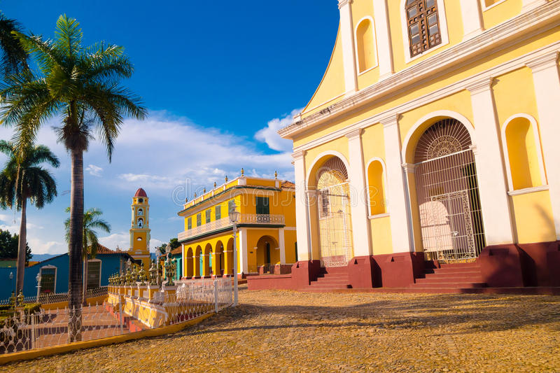 TRINIDAD, CUBA - SEPTEMBER 8, 2015: wees a aan royalty-vrije stock foto