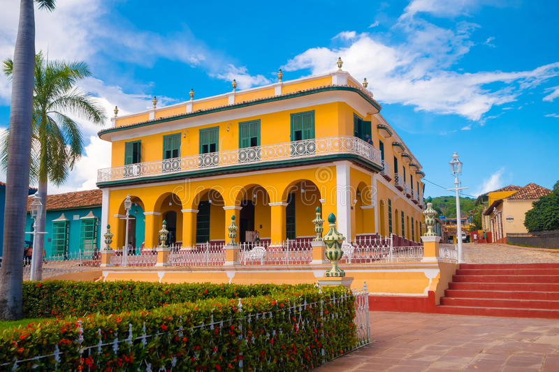 TRINIDAD, CUBA - SEPTEMBER 8, 2015: wees a aan royalty-vrije stock foto's