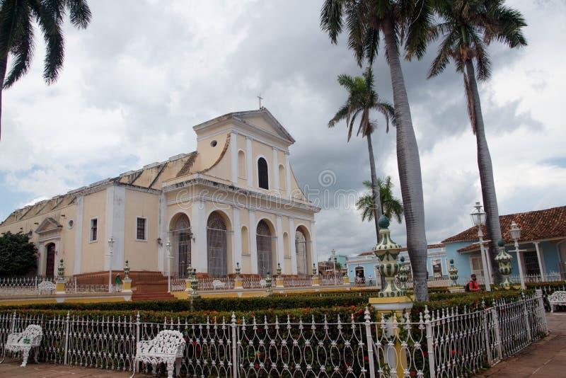 Trinidad de Kuba Koloniinvånare lopp royaltyfri bild