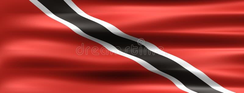 Trinidad en Tobago vector illustratie