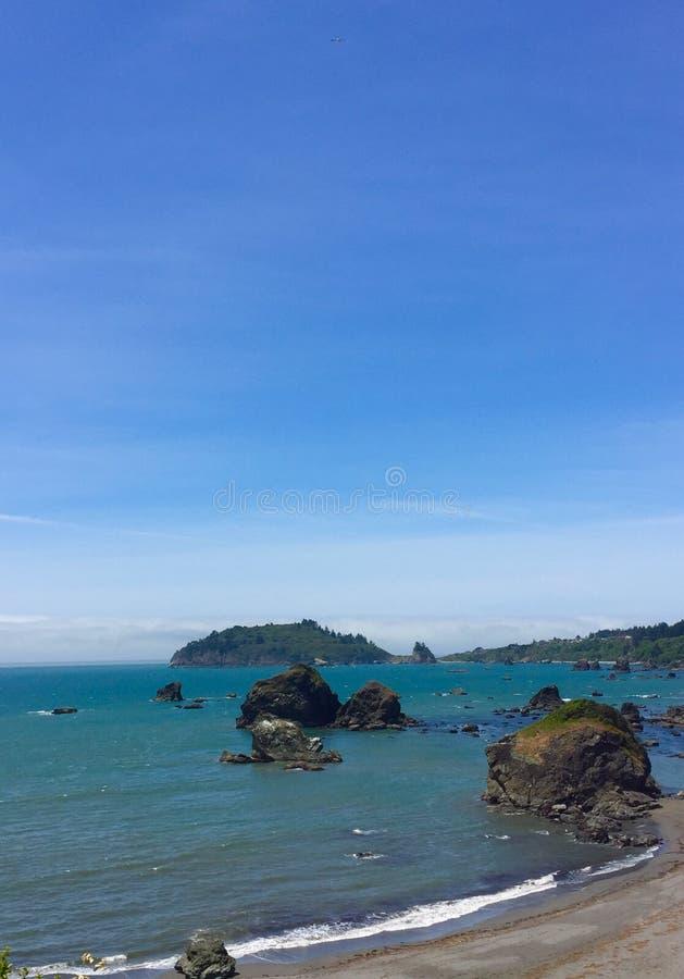 Trinidad från Houda Point royaltyfri fotografi