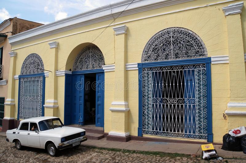 Trinidad gatasikt royaltyfri bild