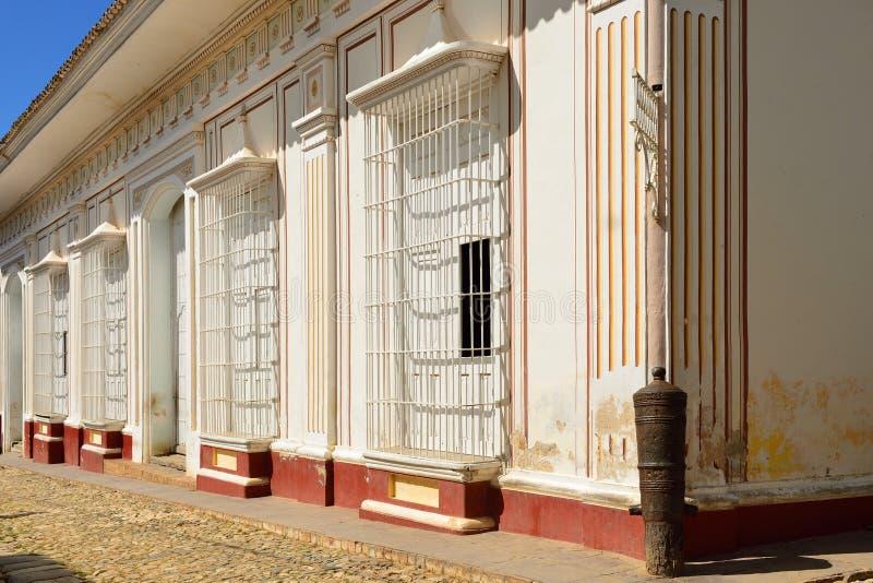 Trinidad i Kuba royaltyfria bilder