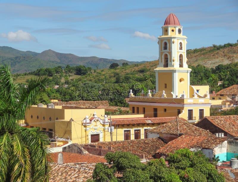 Trinidad i Kuba arkivfoton