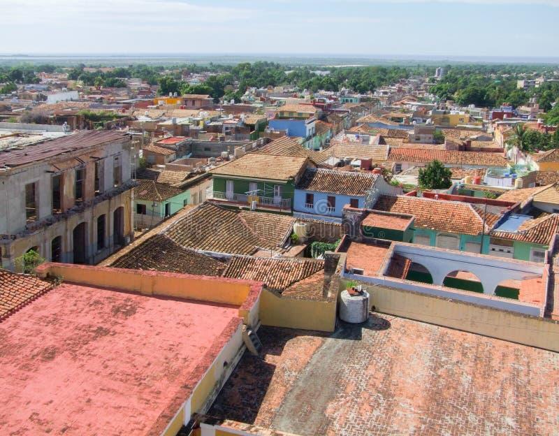 Trinidad i Kuba arkivbilder