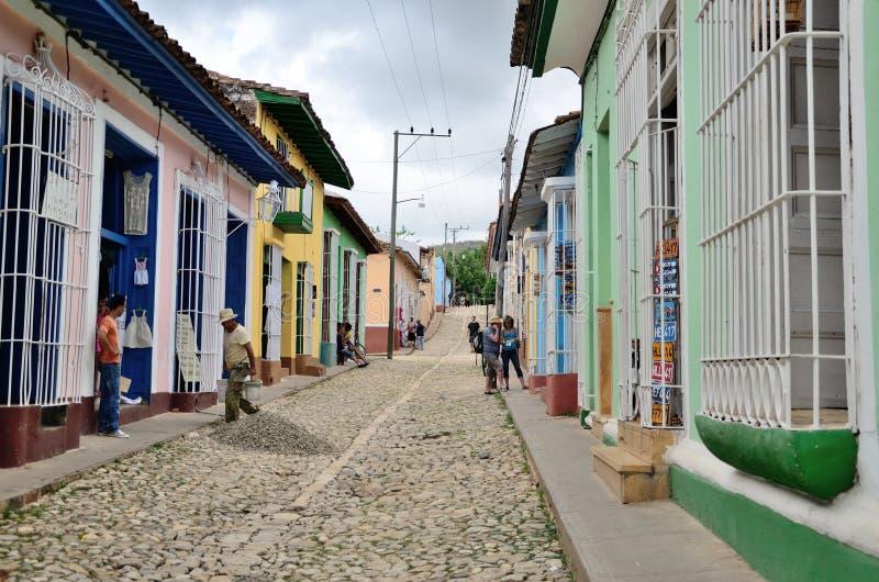Trinidad, Kuba †'kolonialny miasteczko zdjęcie royalty free