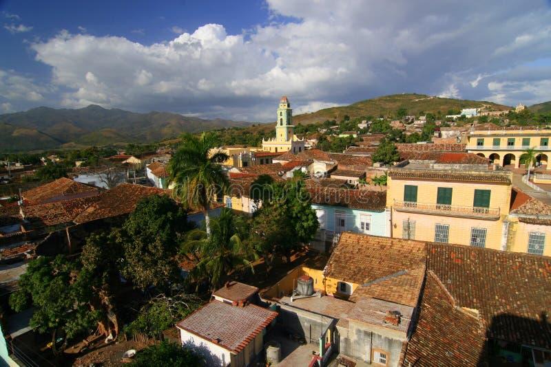 Trinidad Kuba arkivbilder