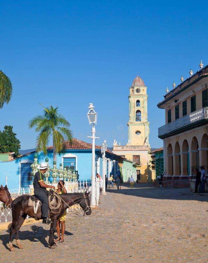 Trinidad Kuba arkivfoto