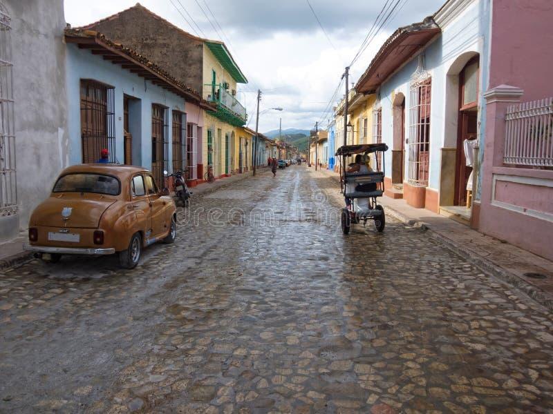 Trinidad Kuba royaltyfri fotografi