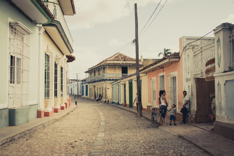 Trinidad, Kuba stockbild